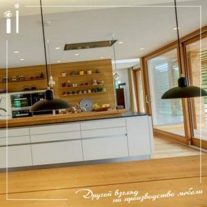 Кухня-столовая открытой планировки