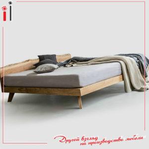 Кровать ихз массива на заказ в Краснодаре