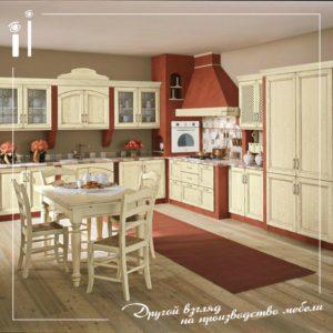 Кухня гостинная в стиле прованс
