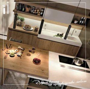 Современная кухня в эко-стиле