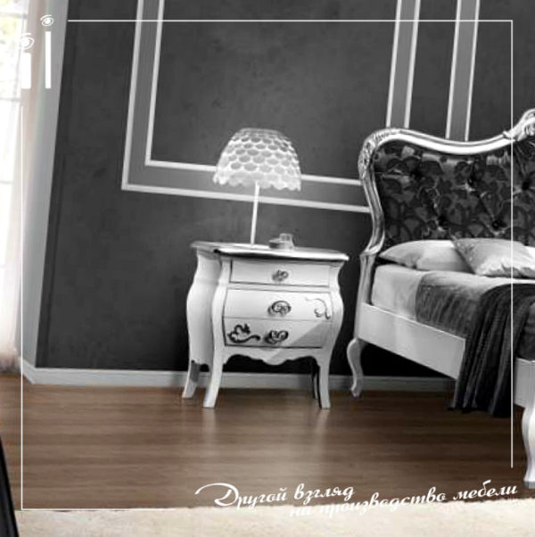 Мебель для спальни на заказ в классическом стиле. Art - 1107