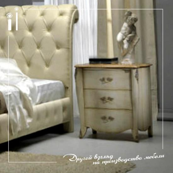 Мебель в спальню светлая. Art 1108