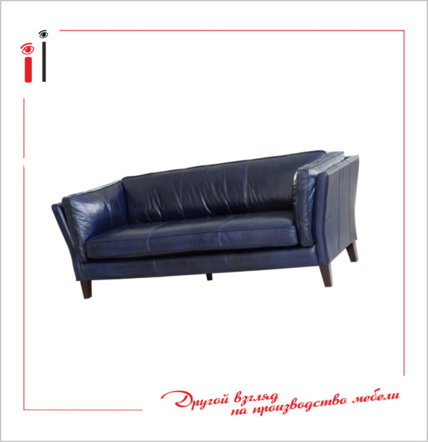 Кожаный диван. Art - 2106