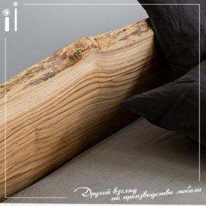Кровать из массива дуба. Art - 1109