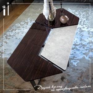 Комплект дизайнерских кофейных столиков. Art - 9101