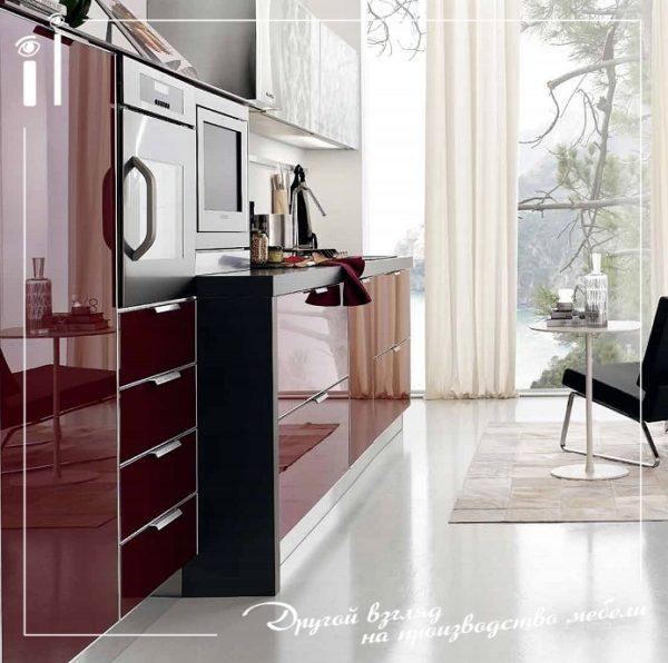 Дизайнерская кухня. Art - 4129