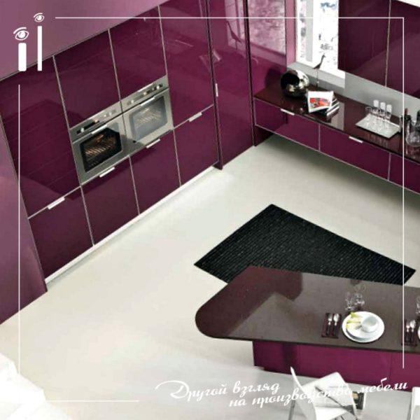 Кухонный гарнитур в современном стиле. Art - 4128