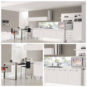 Идеи дизайна кухни белого цвета
