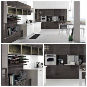 Идеи дизайна кухни темно-белой