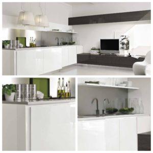 Идеи дизайна кухни белоснежного цвета