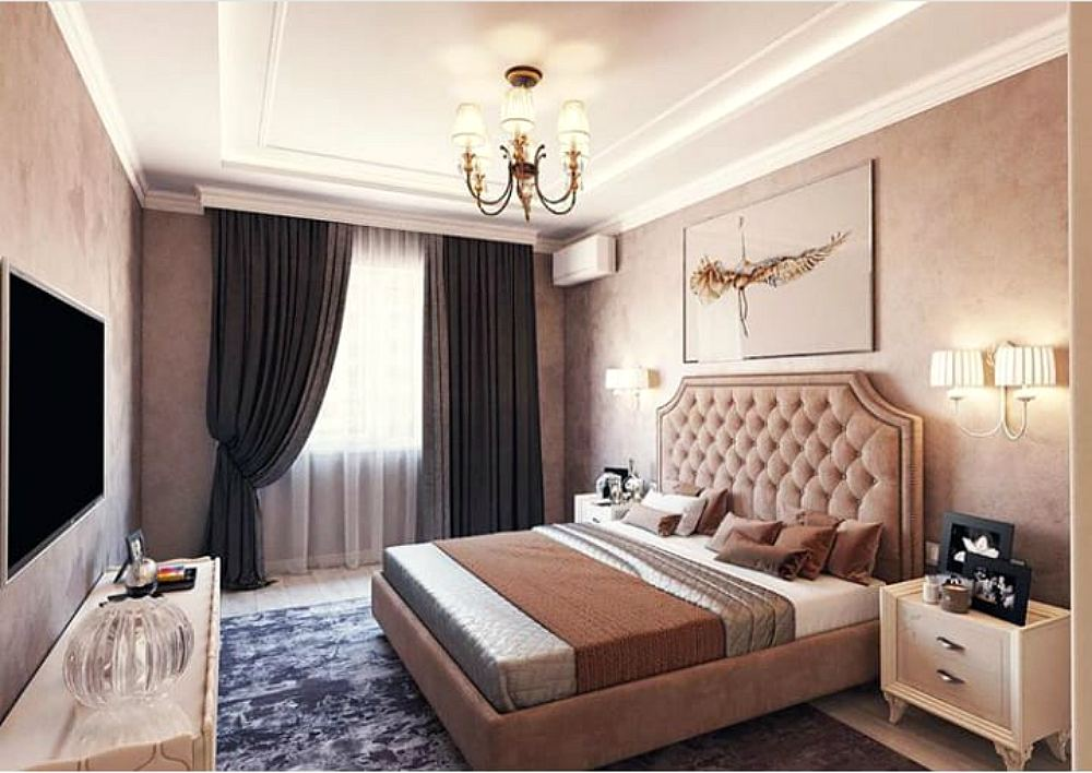 Bedroom by @alexmikhailov_design