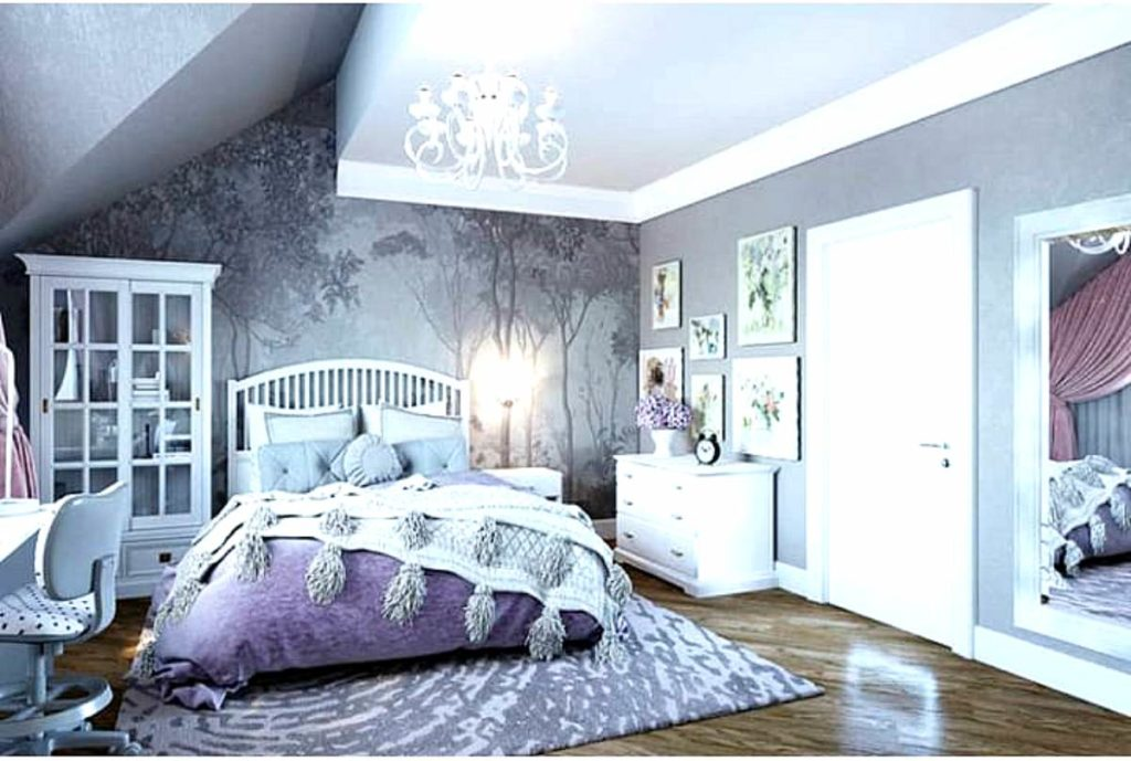Кровать в спальную комнату в стиле прованс.