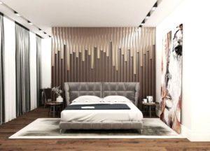 Современная дизайнерская кровать