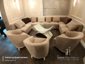 Кофейный столик и мягкая мебель на заказ в Краснодаре