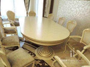 Столы и стулья на заказ из массива в Краснодаре