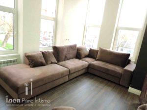 Угловой диван по индивидуальным размерам на заказа